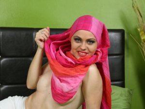 Sesso in webcam ragazza araba con AaniMusliim