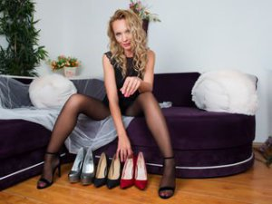 Blonde Webcam Sex von LeenaJacobs